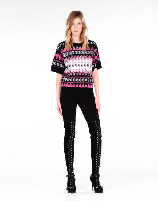 EMILIO PUCCI - Short sleeve sweater