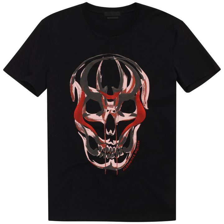 Alexander McQueen, Samurai Skull Print T-Shirt