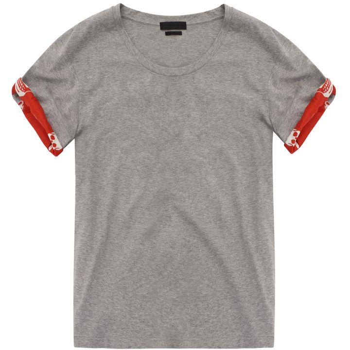 Alexander McQueen, Skull Sleeve T-Shirt