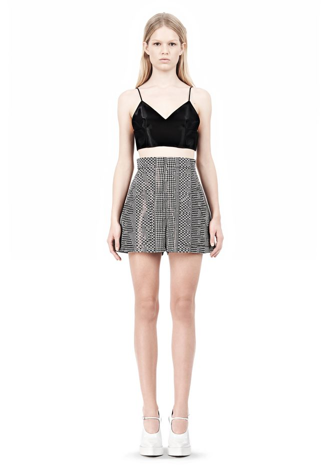ALEXANDER WANG V-NECK CAMISOLE TOP WITH RELEASED DARTS