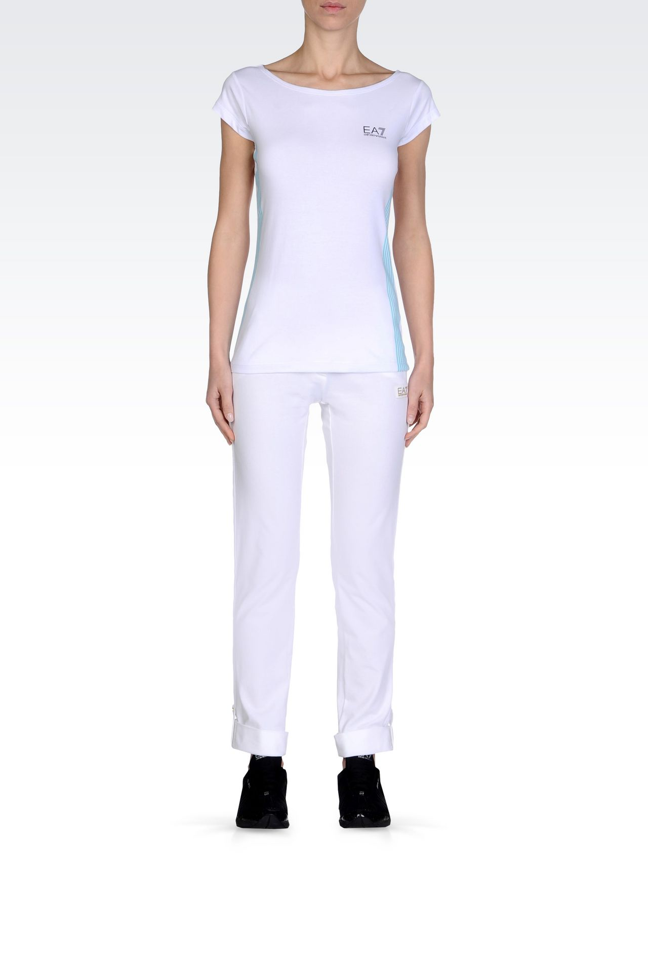 T-shirts and sweatshirts: Short sleeved t-shirts Women by Armani - 0