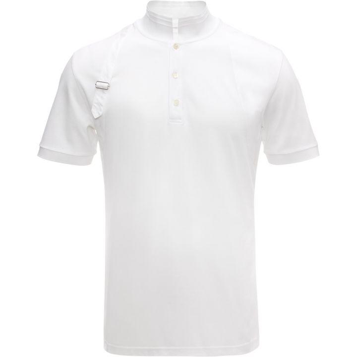 Alexander McQueen, Piqué Jersey Harness Polo-Shirt