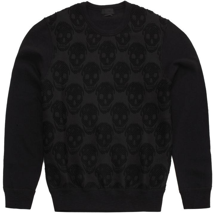 Alexander McQueen, Skull Jacquard Sweatshirt