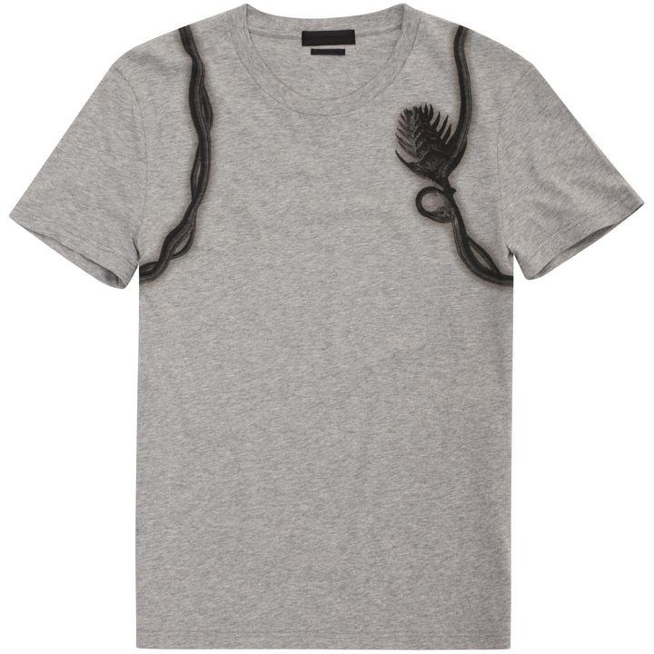 Alexander McQueen, Floral Harness Print T-Shirt