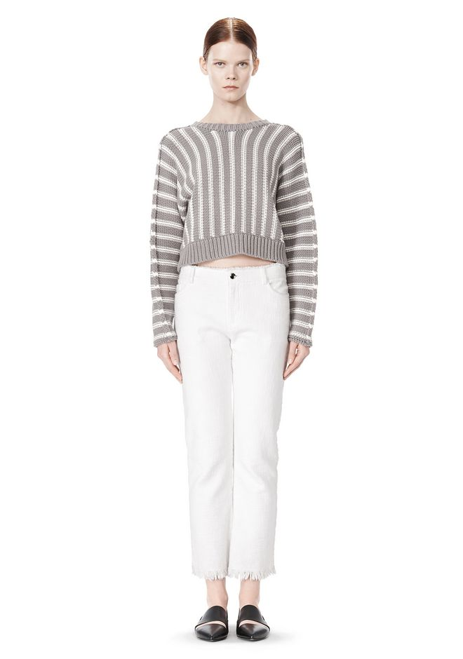 T by ALEXANDER WANG DOLMAN LONG SLEEVE PULLOVER