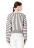 T by ALEXANDER WANG DOLMAN LONG SLEEVE PULLOVER Crewneck Adult 8_n_d
