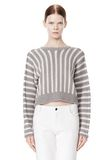 T by ALEXANDER WANG DOLMAN LONG SLEEVE PULLOVER Crewneck Adult 8_n_e