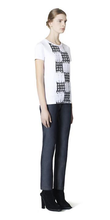 Balenciaga Scribble Check Tee-Shirt