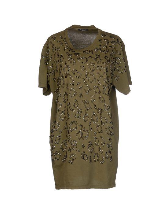 Фото BALMAIN Короткое платье. Купить с доставкой