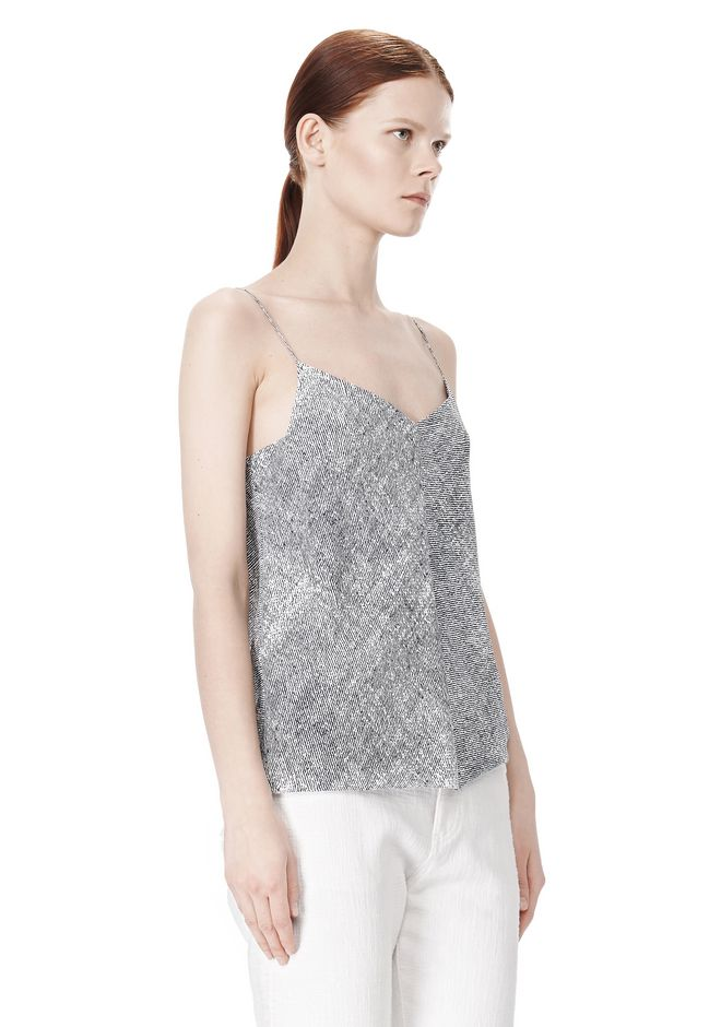 T by ALEXANDER WANG GEORGETTE CAMISOLE TOP TOP Adult 12_n_a