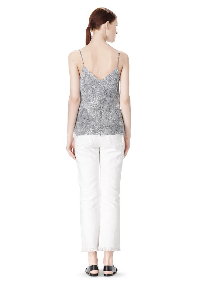 T by ALEXANDER WANG GEORGETTE CAMISOLE TOP TOP Adult 12_n_r