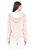 T by ALEXANDER WANG SPECKLED KNITTED HOODIE TOP Adult 8_n_d