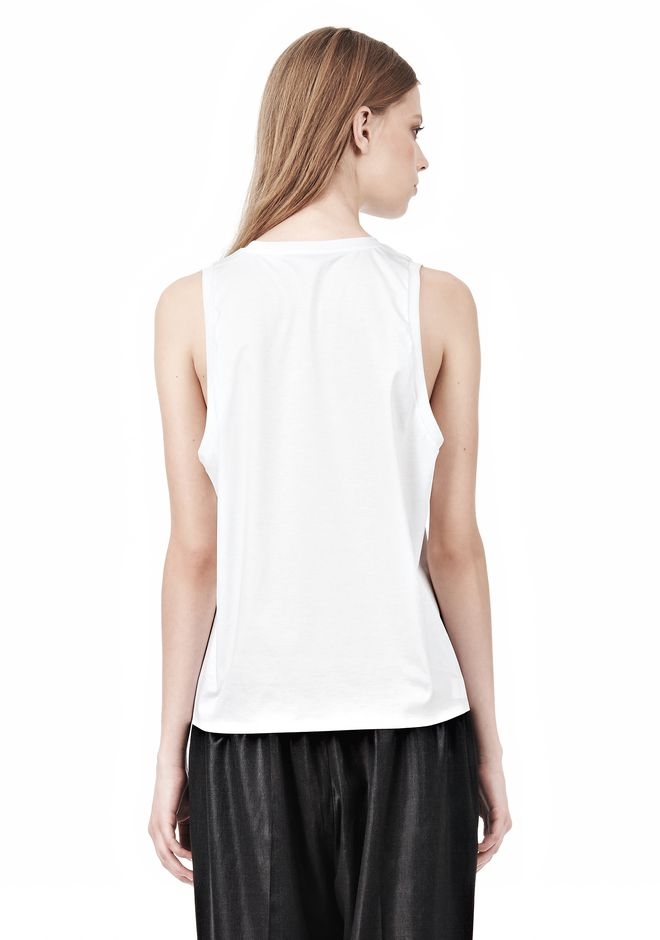ALEXANDER WANG PARENTAL ADVISORY MUSCLE TANK TOP Adult 12_n_d