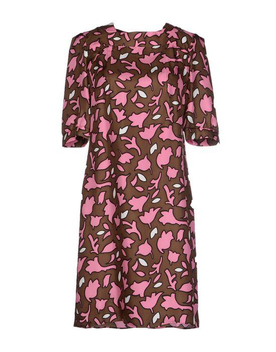 Фото MARNI Короткое платье. Купить с доставкой