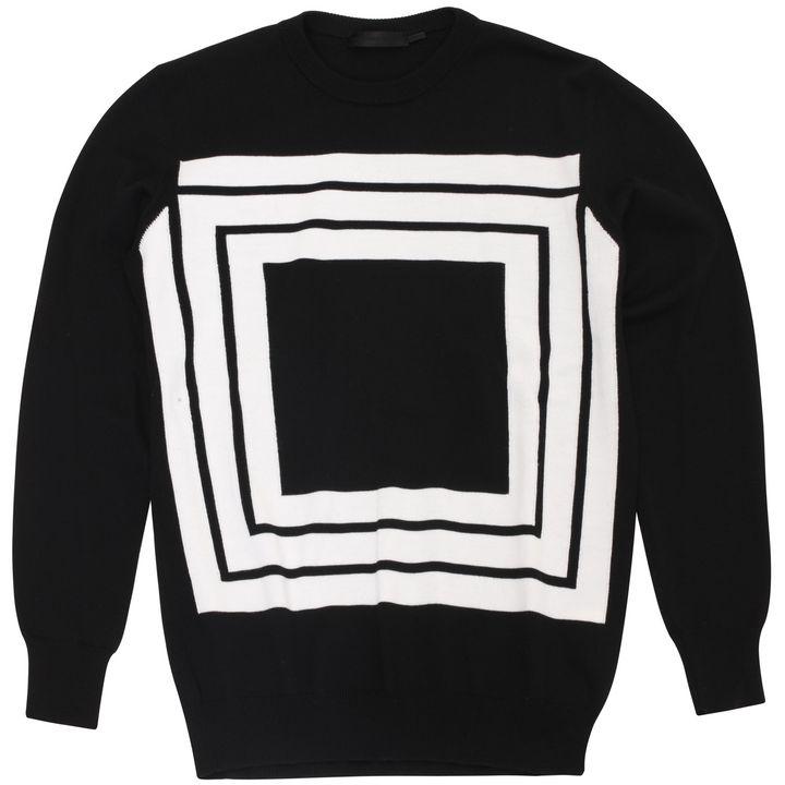 Alexander McQueen, Geometric Knit Jumper