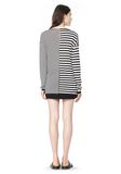 T by ALEXANDER WANG LIGHTWEIGHT LONG SLEEVE KNIT SWEATER TOP Adult 8_n_r