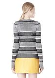 T by ALEXANDER WANG RIB KNIT LONG SLEEVE MOCK NECK TOP TOP Adult 8_n_d