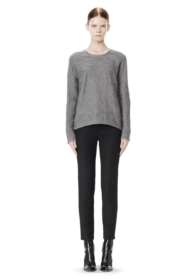 ALEXANDER WANG DISTRESSED PULLOVER
