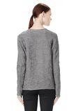ALEXANDER WANG DISTRESSED PULLOVER TOP Adult 8_n_d