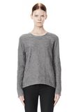 ALEXANDER WANG DISTRESSED PULLOVER TOP Adult 8_n_e