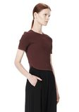 ALEXANDER WANG SHRUNKEN MESH TEE  TOP Adult 8_n_a