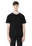 T by ALEXANDER WANG DISTRESSED SLUB COTTON JERSEY CREWNECK TEE T-Shirt Adult 8_n_e