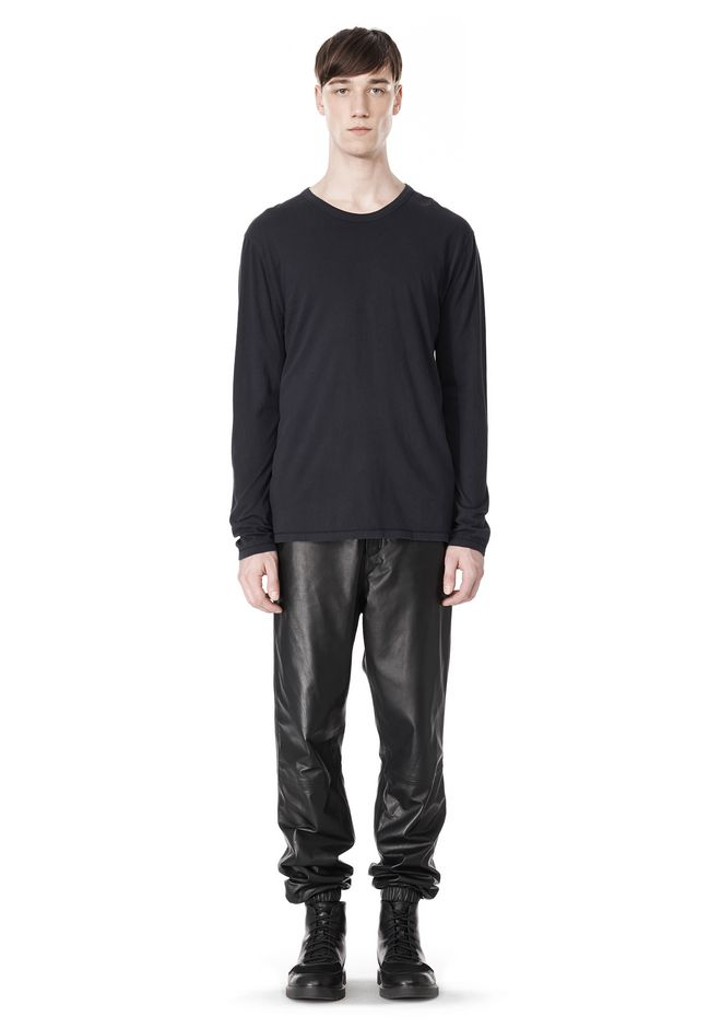 T by ALEXANDER WANG CLASSIC CREWNECK LONG SLEEVE TEE