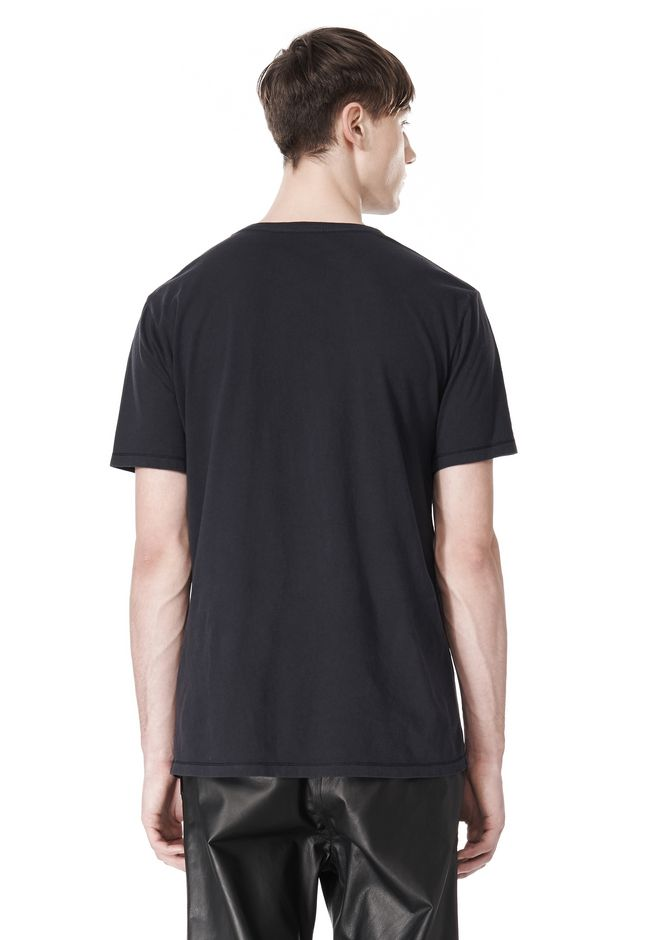 T by ALEXANDER WANG CLASSIC CREWNECK SHORT SLEEVE TEE T-Shirt Adult 12_n_d