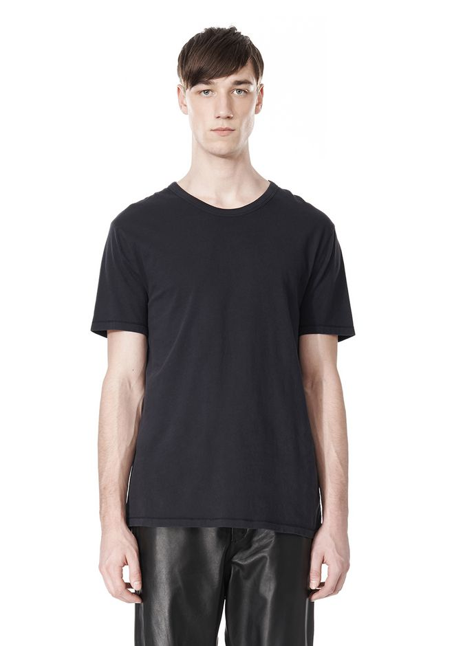T by ALEXANDER WANG CLASSIC CREWNECK SHORT SLEEVE TEE T-Shirt Adult 12_n_e