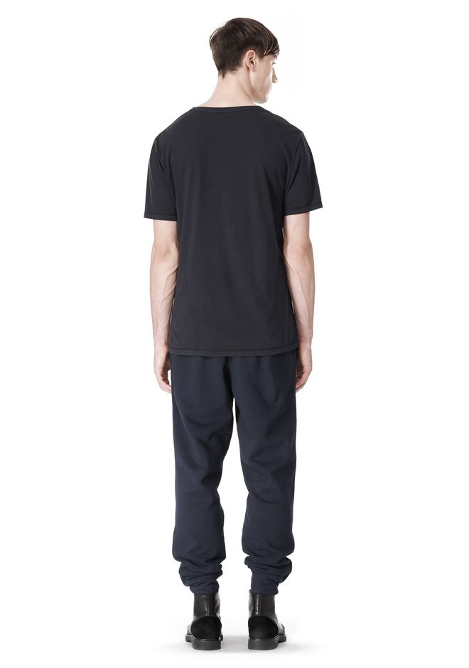 T by ALEXANDER WANG LOW NECK SHORT SLEEVE TEE T-Shirt Adult 12_n_r
