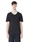 T by ALEXANDER WANG LOW NECK SHORT SLEEVE TEE T-Shirt Adult 8_n_e