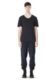 T by ALEXANDER WANG LOW NECK SHORT SLEEVE TEE T-Shirt Adult 8_n_f