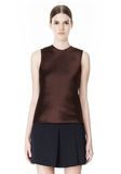 ALEXANDER WANG EXCLUSIVE SHELL TOP WITH FRINGE TOP Adult 8_n_d