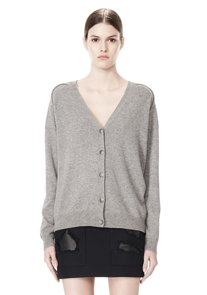 ALEXANDER WANG PEEL AWAY CARDIGAN  CARDIGAN Adult 12_n_e