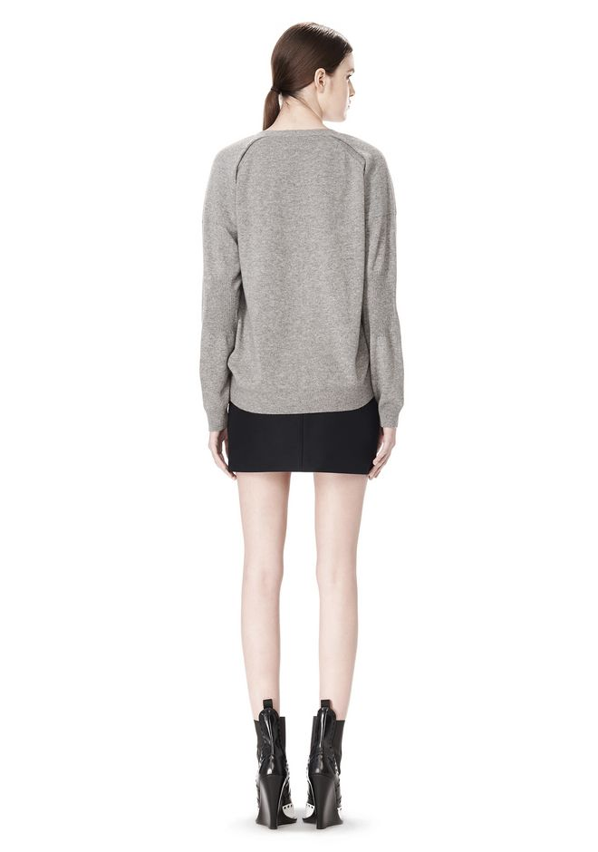 ALEXANDER WANG PEEL AWAY CARDIGAN  CARDIGAN Adult 12_n_r