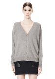 ALEXANDER WANG PEEL AWAY CARDIGAN  CARDIGAN Adult 8_n_e