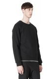 T by ALEXANDER WANG VINTAGE FLEECE LONG SLEEVE SWEATSHIRT SWEATER Adult 8_n_a