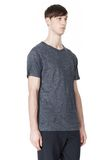 HEATHER LINEN CREWNECK SHORT SLEEVE TEE