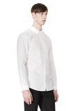 ALEXANDER WANG HIDDEN BUTTON DOWN DRESS SHIRT SHIRT Adult 8_n_a
