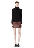 T by ALEXANDER WANG MERINO STRIPED TURTLENECK PULLOVER TOP Adult 8_n_f