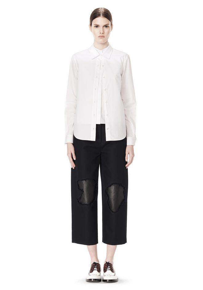 ALEXANDER WANG DOUBLE LAYER MEN'S SHIRT TOP Adult 12_n_f