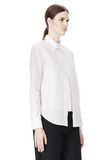 ALEXANDER WANG DOUBLE LAYER MEN'S SHIRT TOP Adult 8_n_a