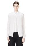 ALEXANDER WANG DOUBLE LAYER MEN'S SHIRT TOP Adult 8_n_e