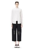 ALEXANDER WANG DOUBLE LAYER MEN'S SHIRT TOP Adult 8_n_f