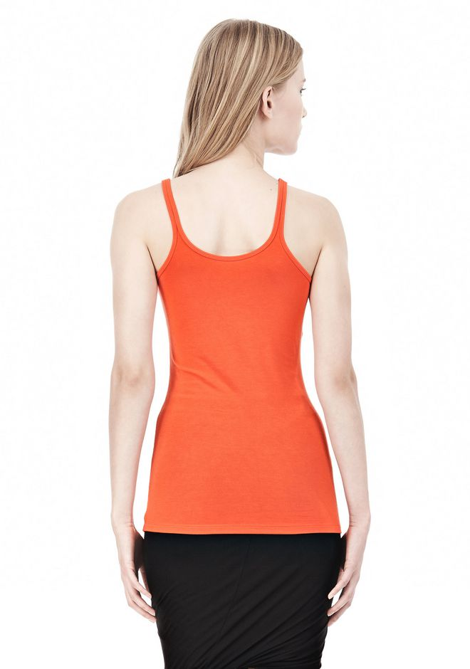 T by ALEXANDER WANG MODAL SPANDEX CAMI TANK TOP Adult 12_n_d
