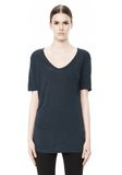 T by ALEXANDER WANG CLASSIC TEE WITH POCKET TOP Adult 8_n_e