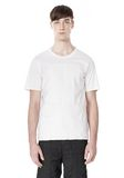 ALEXANDER WANG LASER CUT LOGO BONDED T SHIRT Short sleeve t-shirt Adult 8_n_e