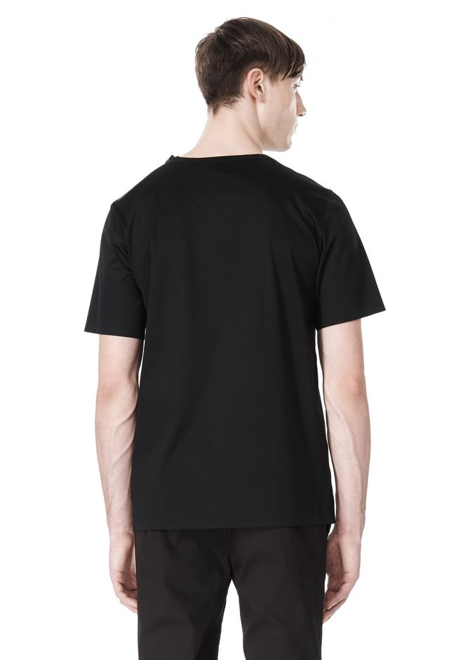 ALEXANDER WANG LASER CUT LOGO BONDED T SHIRT Short sleeve t-shirt Adult 12_n_d