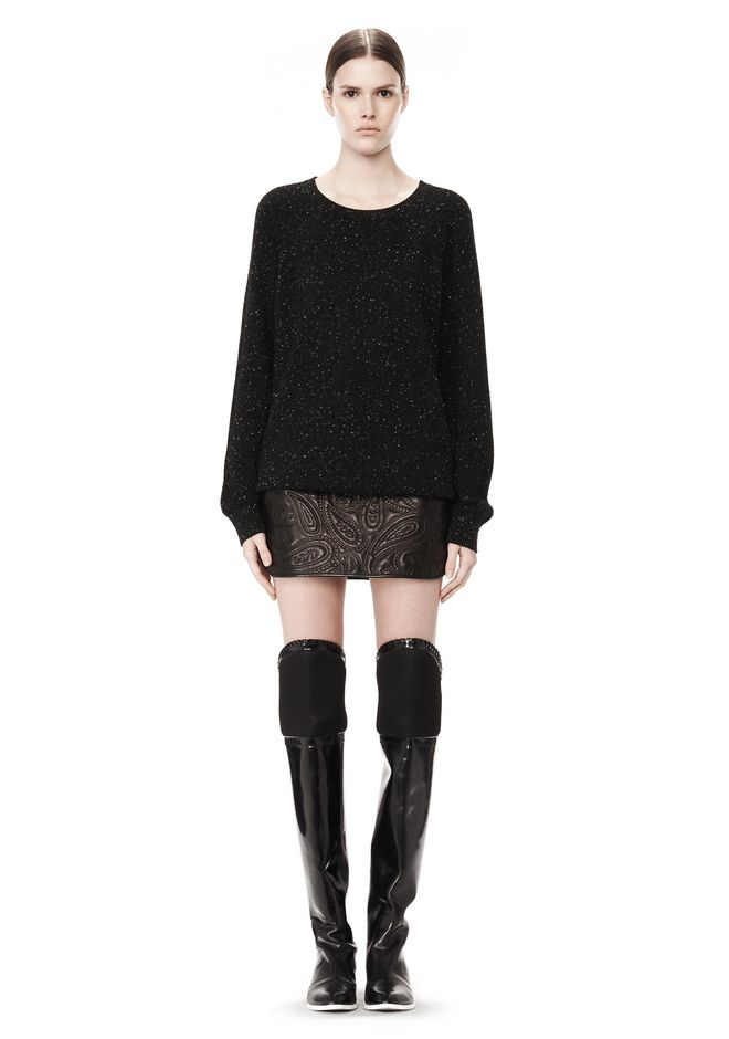 ALEXANDER WANG CASHMERE DONEGAL PULLOVER