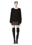 ALEXANDER WANG CASHMERE DONEGAL PULLOVER Crewneck Adult 8_n_f